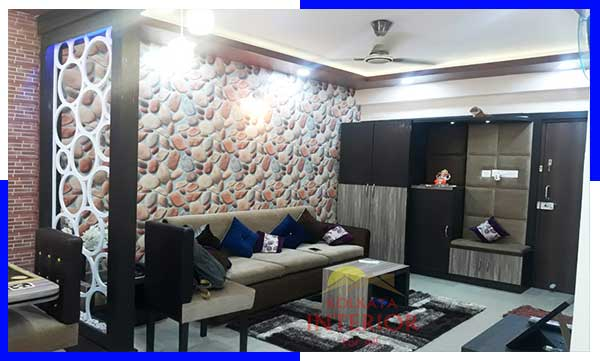 living room interior decorators kolkata