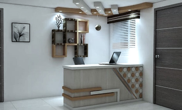 Office Reception Interior Designers Decorator Kolkata