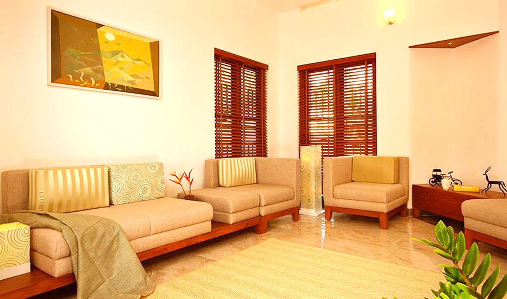 Living room decorator kolkata best interior decorators for Simple living room designs in kerala